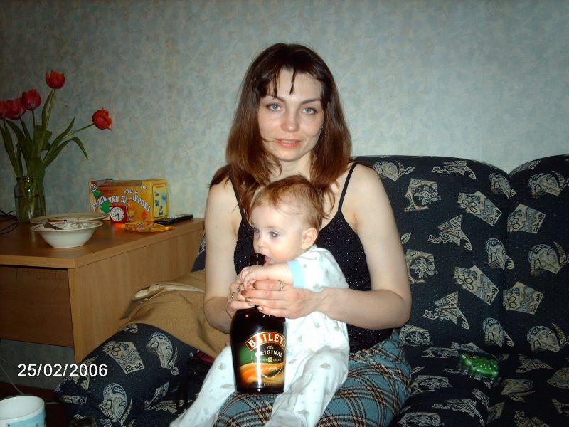 домашнее фото мамы
