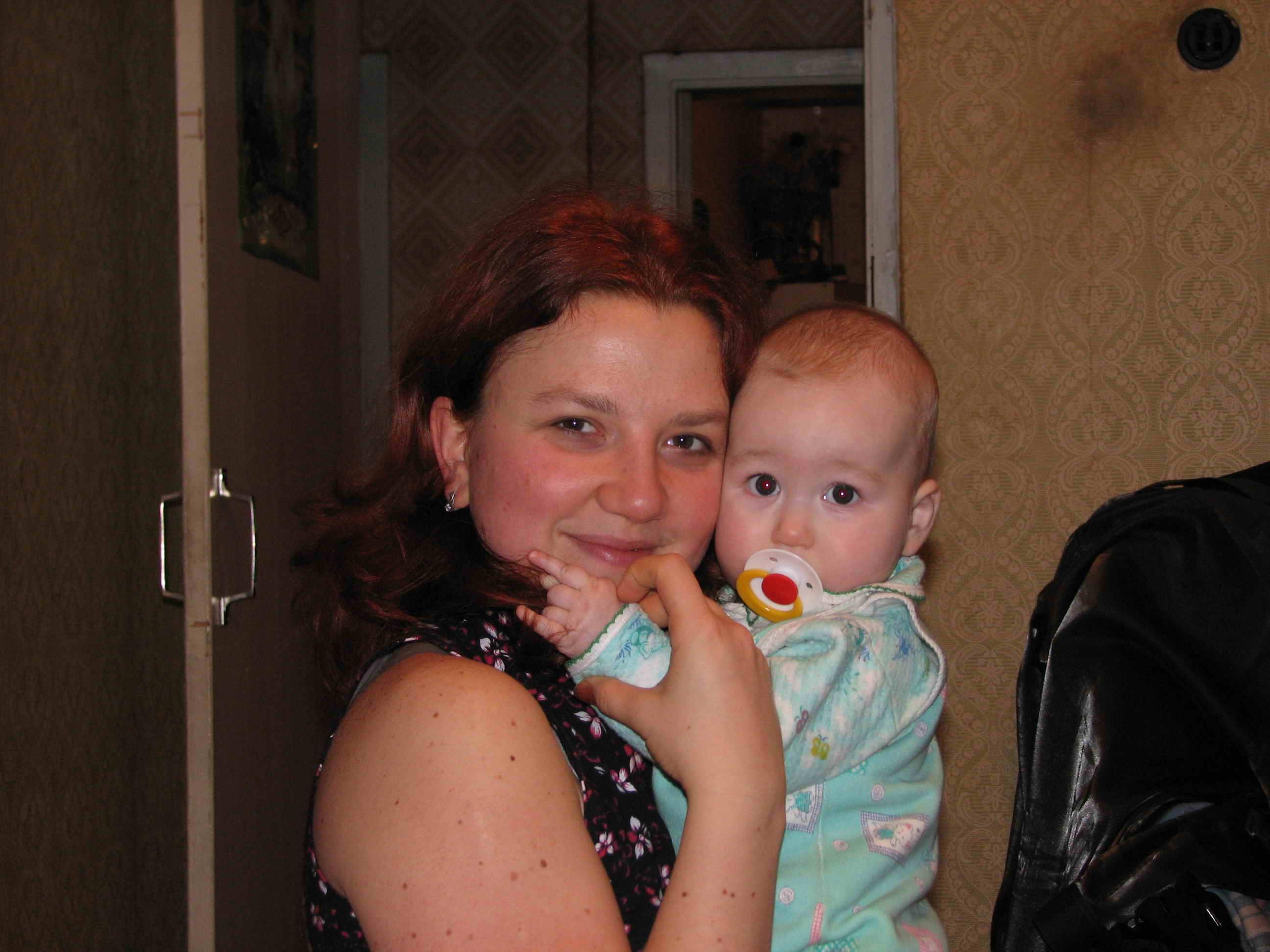 С племянником на даче 6 фотография