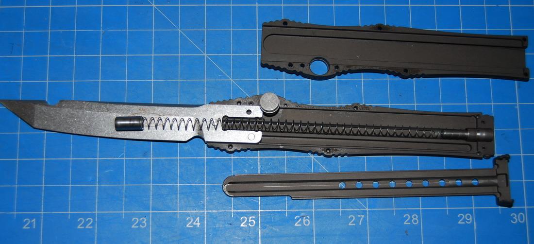 Как сделать фронтальный нож