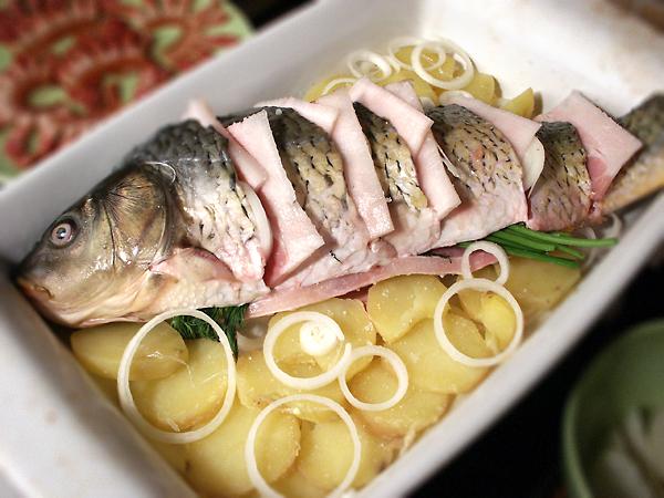 Відварена риба