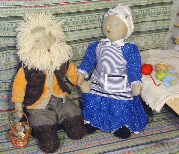 "Альбом куклы. Фото ""дед и баба"" 114.2 k (600x515) Pстарички.jpg"