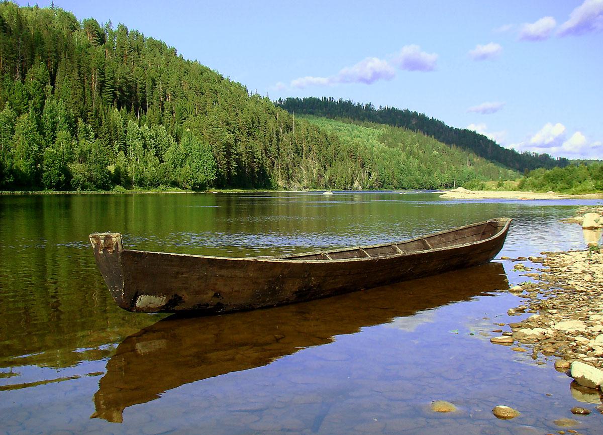 По реке по озеру в лодке поплыву