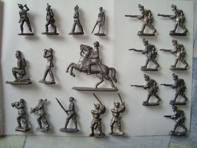 Как сделать оловянных солдатиков самому