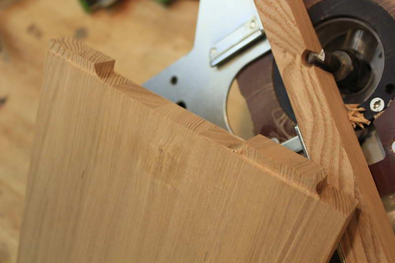 Как сделать ласточкин хвост при помощи фрезера