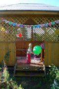 Украсить беседку на день рождения ребенка своими руками фото 41