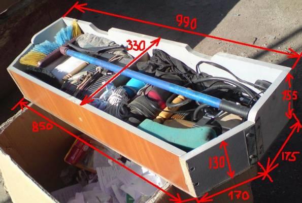 Ящик под инструменты в машину своими руками 66