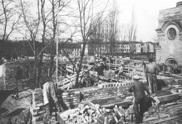 Строительство школы № 142